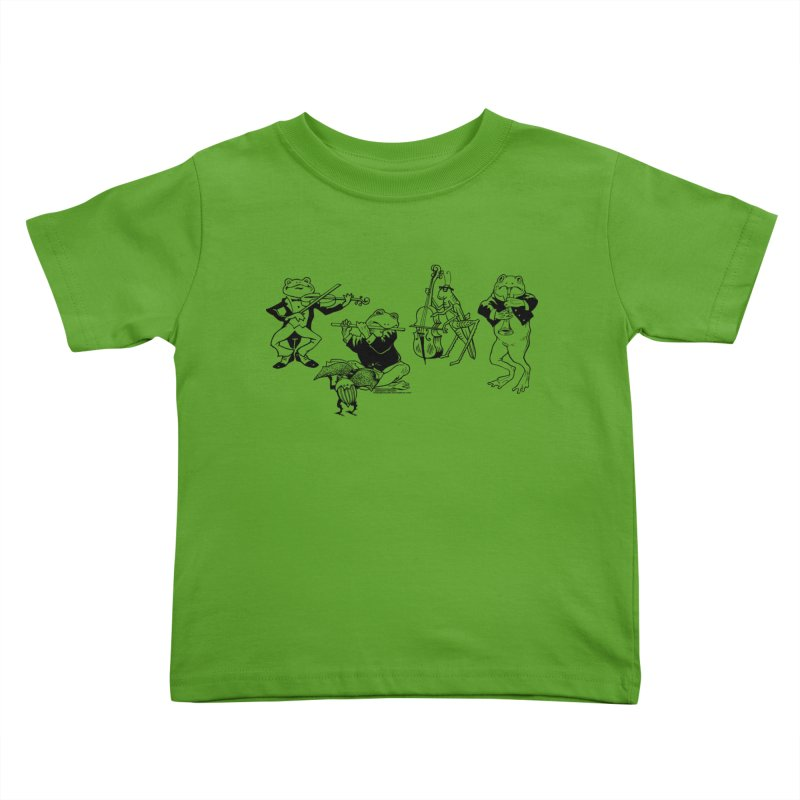 Spring Quartet Kids Toddler T-Shirt by Midnight Studio