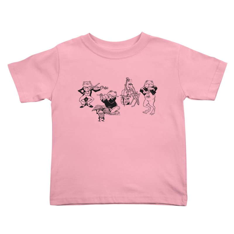 Spring Quartet Kids Toddler T-Shirt by Midnight Studio