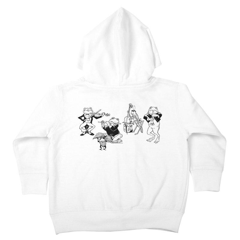 Spring Quartet Kids Toddler Zip-Up Hoody by Midnight Studio