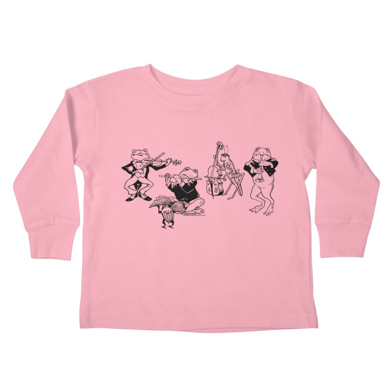 Spring Quartet Kids Toddler Longsleeve T-Shirt by Midnight Studio