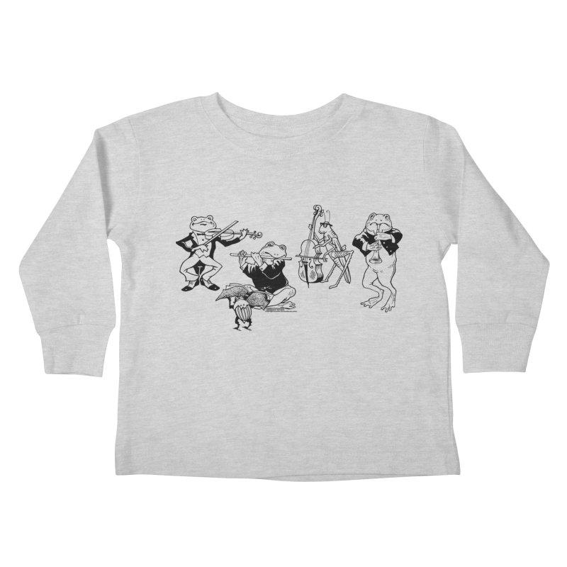 Spring Quartet Kids Toddler Longsleeve T-Shirt by Midnight Studio
