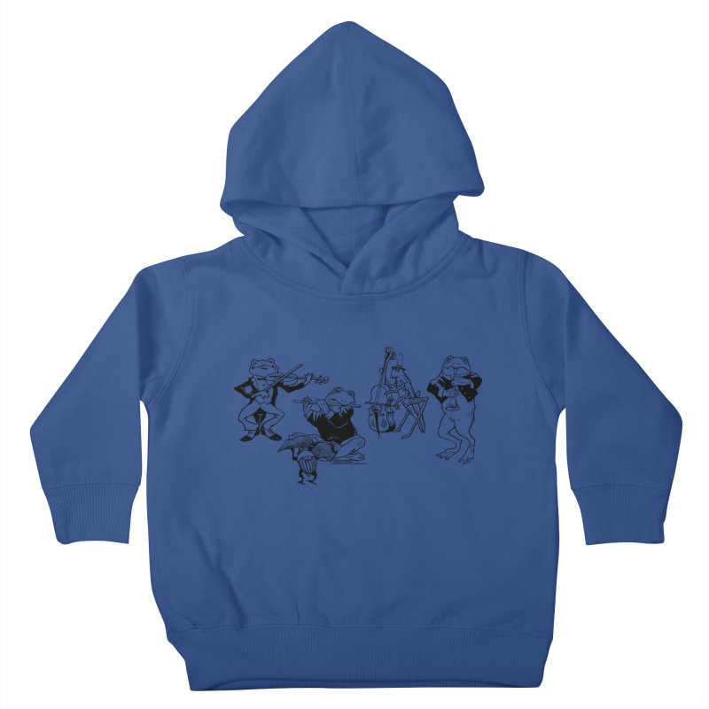 Spring Quartet Kids Toddler Pullover Hoody by Midnight Studio