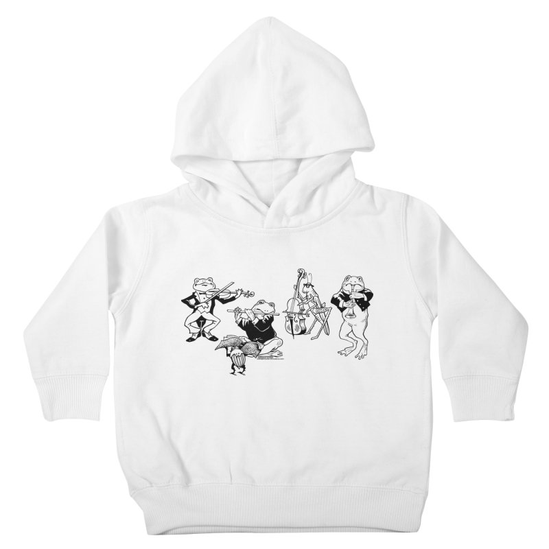 Spring Quartet Kids Toddler Pullover Hoody by Midnight Studio