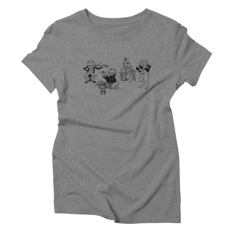 Spring Quartet Women's Triblend T-Shirt by Midnight Studio