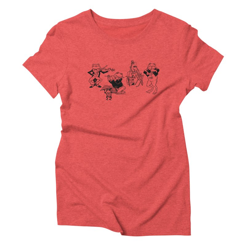 Spring Quartet Women's Triblend T-Shirt by Midnight Studio