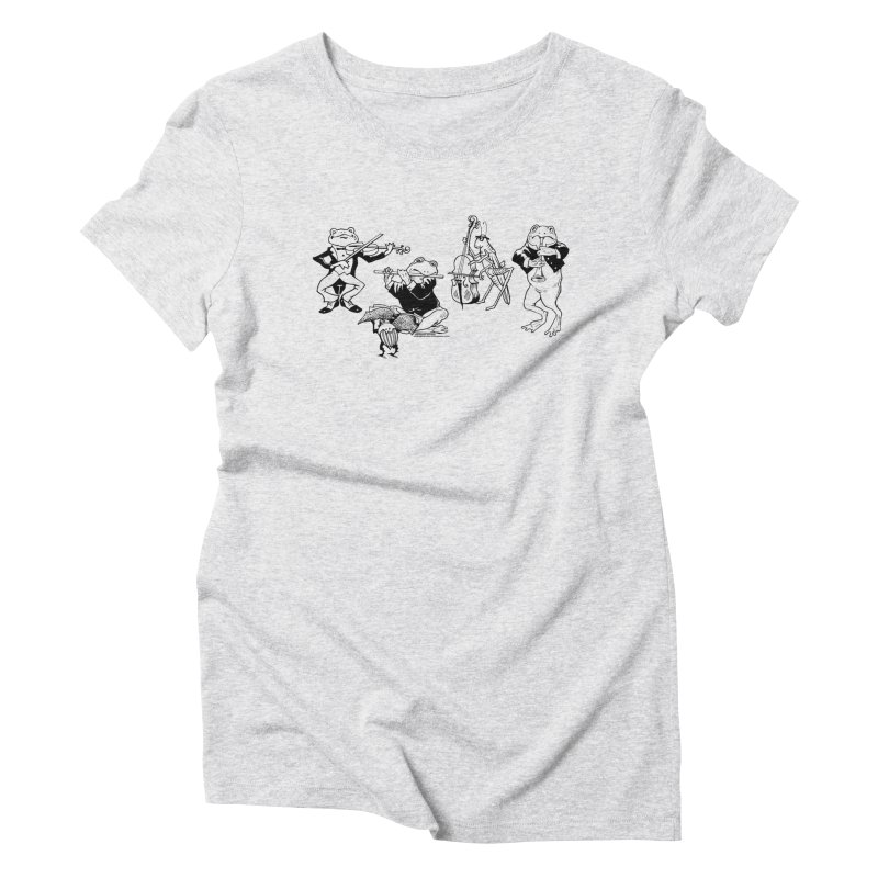 Spring Quartet Women's T-Shirt by Midnight Studio