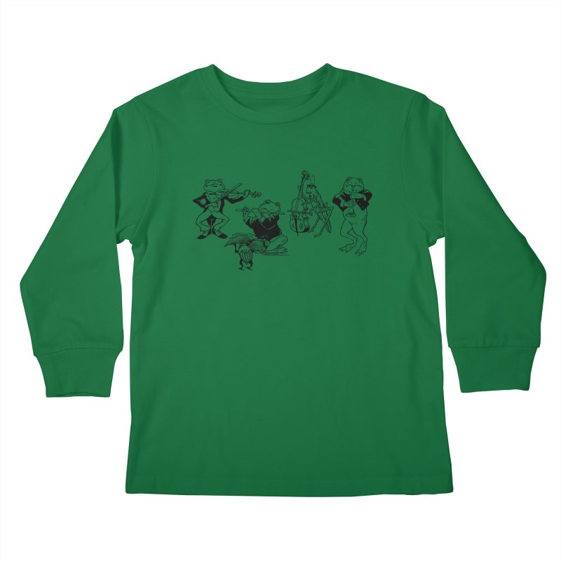 Spring Quartet Kids Longsleeve T-Shirt by Midnight Studio