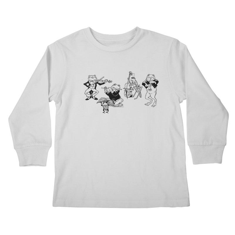 Spring Quartet Kids Longsleeve T-Shirt by Midnight Studio