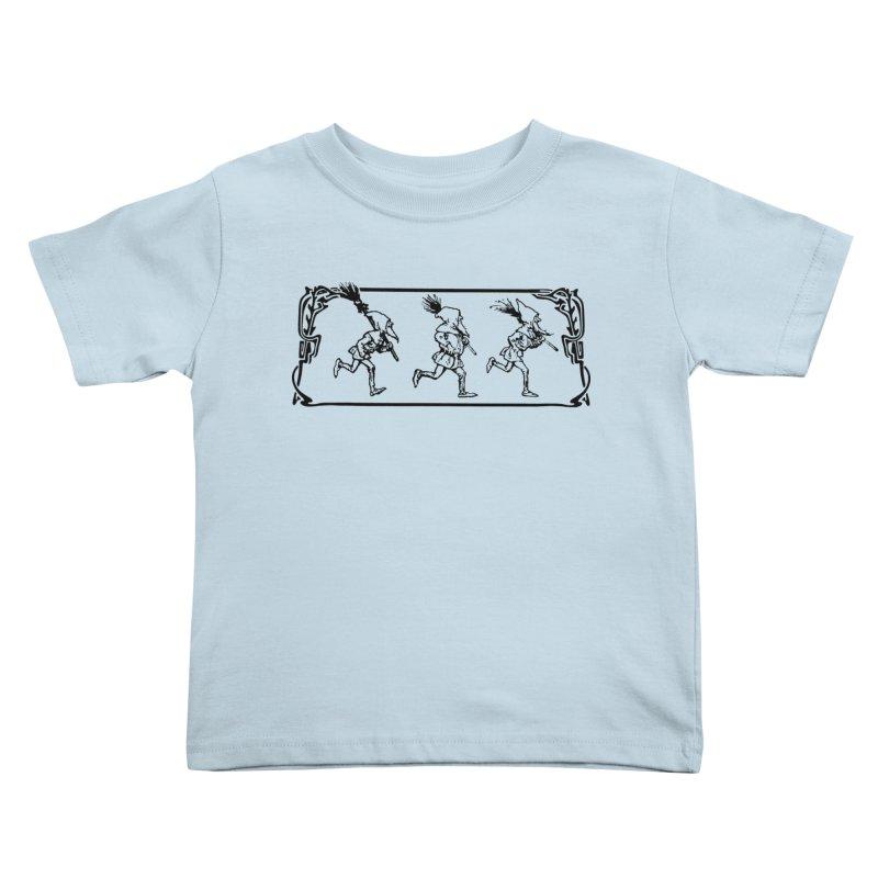 Gnomes Kids Toddler T-Shirt by Midnight Studio