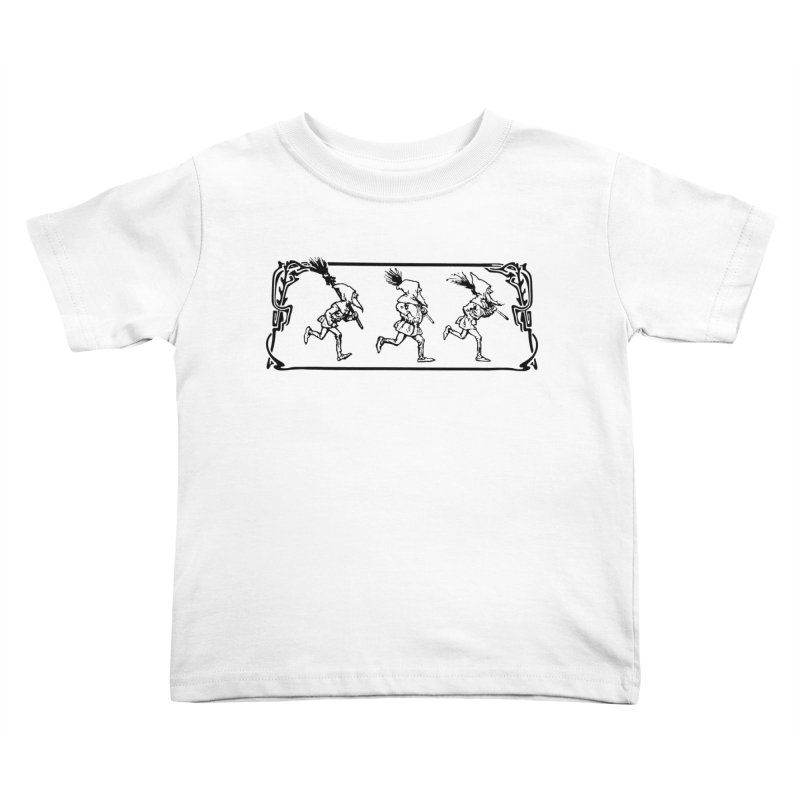 Gnomes Kids Toddler T-Shirt by Midnight Studio