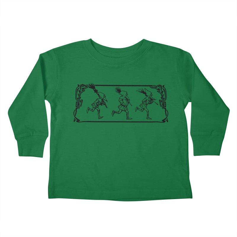 Gnomes Kids Toddler Longsleeve T-Shirt by Midnight Studio