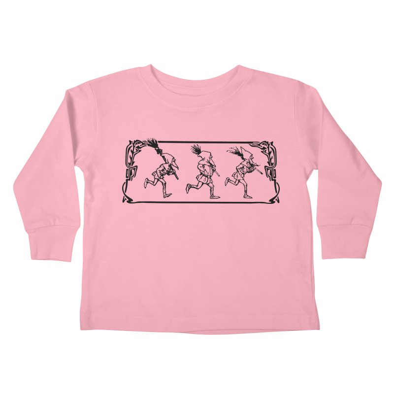 Gnomes Kids Toddler Longsleeve T-Shirt by Midnight Studio