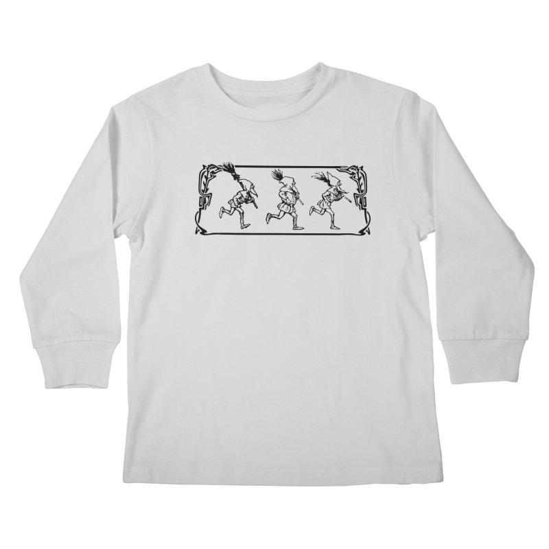 Gnomes Kids Longsleeve T-Shirt by Midnight Studio
