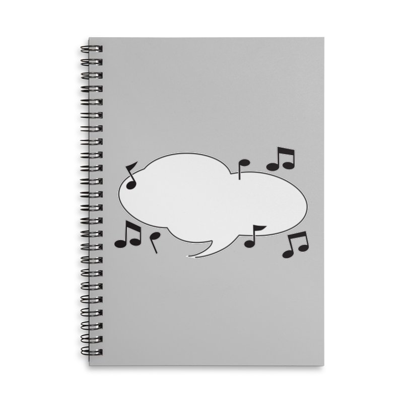 DIY Favorite Song/Lyric Accessories Notebook by Midnight Studio