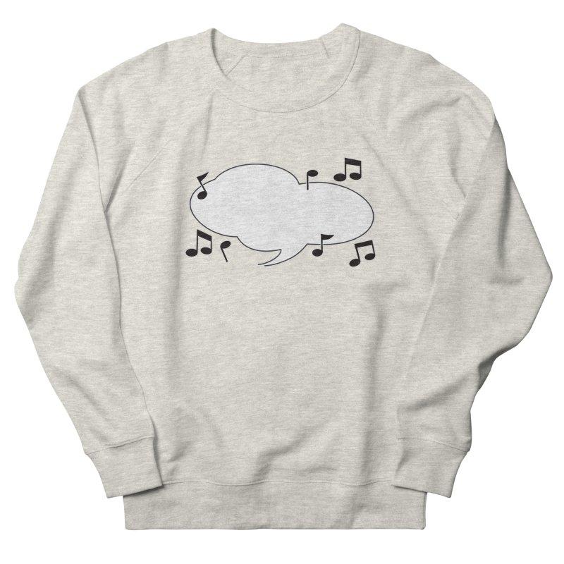DIY Favorite Song/Lyric Men's French Terry Sweatshirt by Midnight Studio