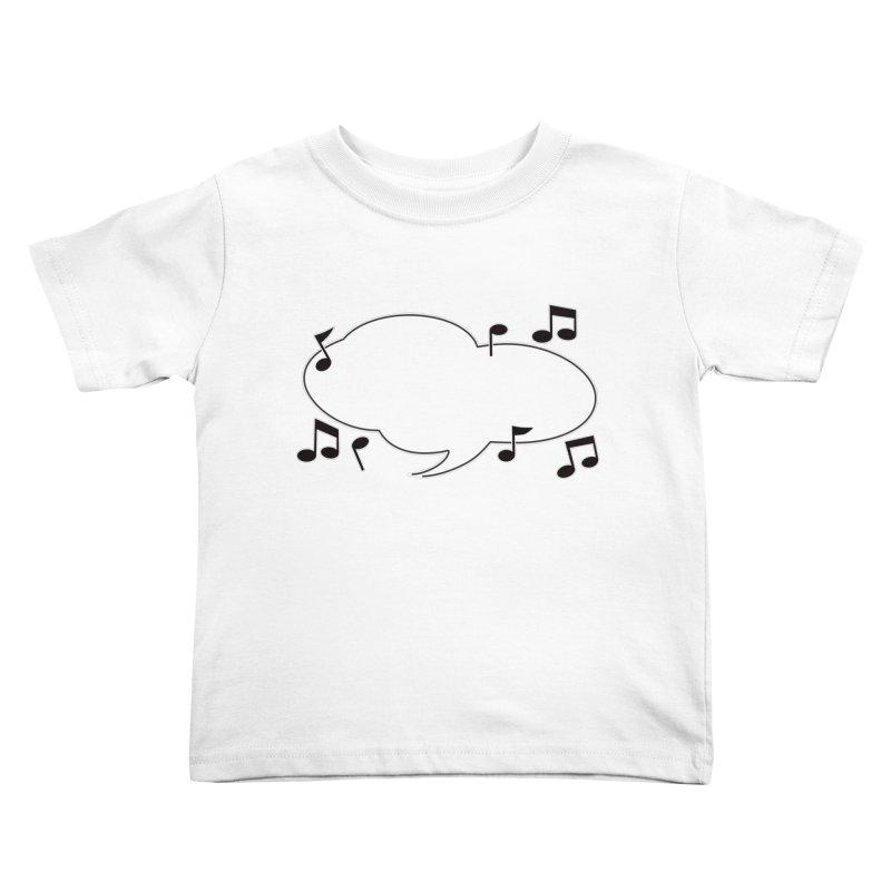 DIY Favorite Song/Lyric Kids Toddler T-Shirt by Midnight Studio