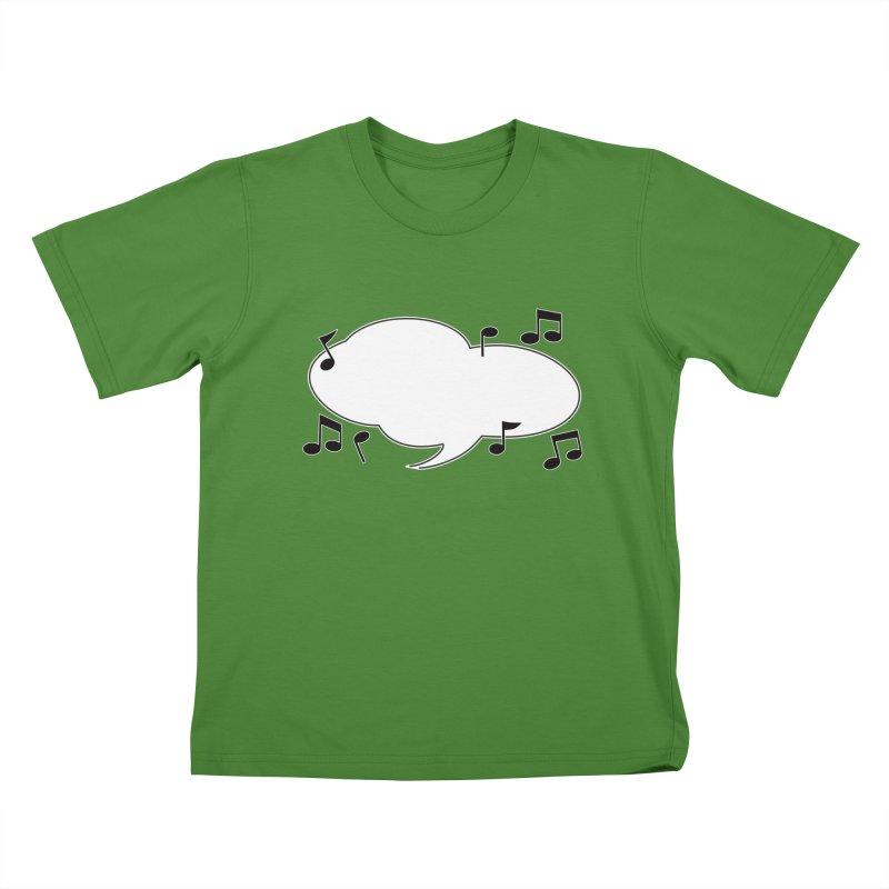 DIY Favorite Song/Lyric Kids T-Shirt by Midnight Studio