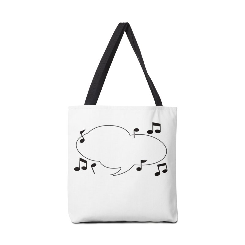 DIY Favorite Song/Lyric Accessories Tote Bag Bag by Midnight Studio