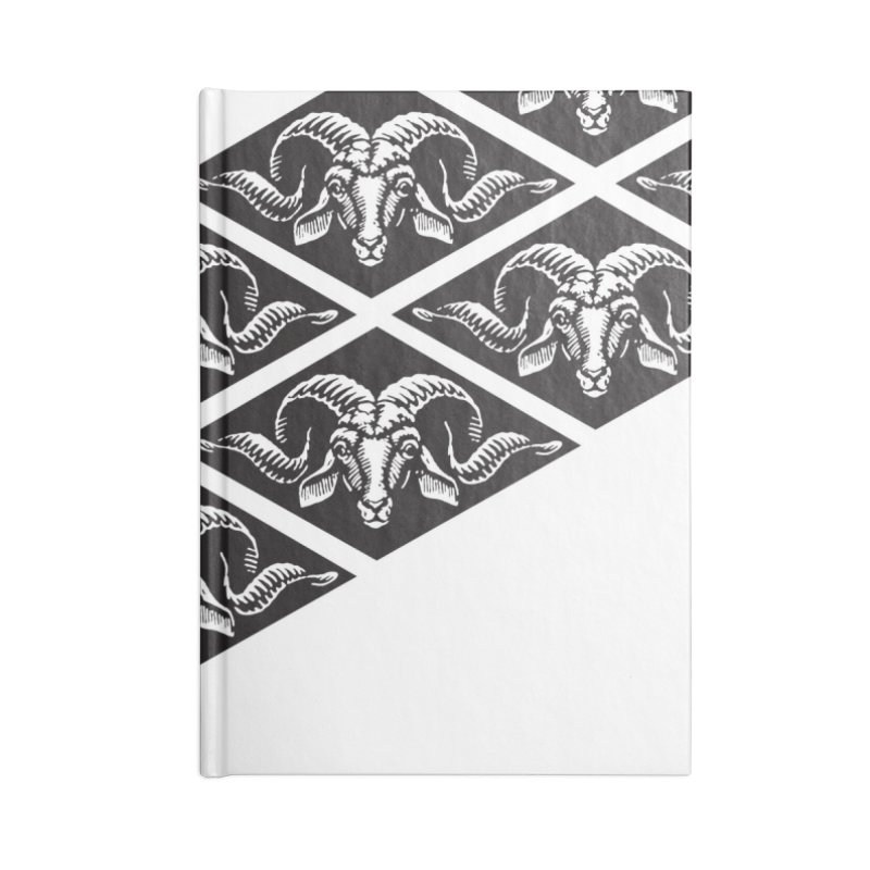 G.O.A.T. Accessories Blank Journal Notebook by Midnight Studio