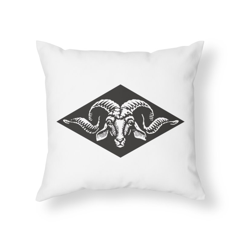 G.O.A.T. Home Throw Pillow by Midnight Studio