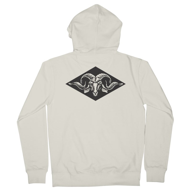 G.O.A.T. Men's Zip-Up Hoody by Midnight Studio