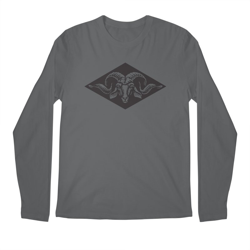 G.O.A.T. Men's Longsleeve T-Shirt by Midnight Studio