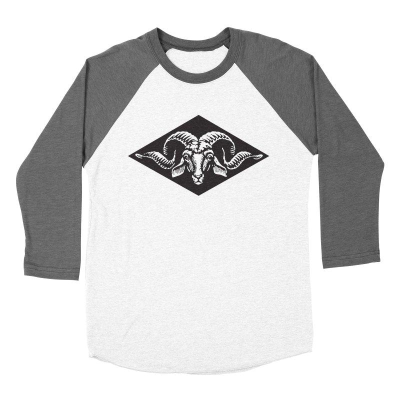 G.O.A.T. Men's Baseball Triblend Longsleeve T-Shirt by Midnight Studio