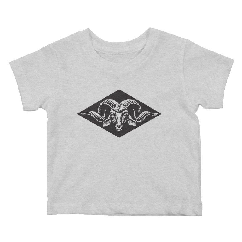 G.O.A.T. Kids Baby T-Shirt by Midnight Studio