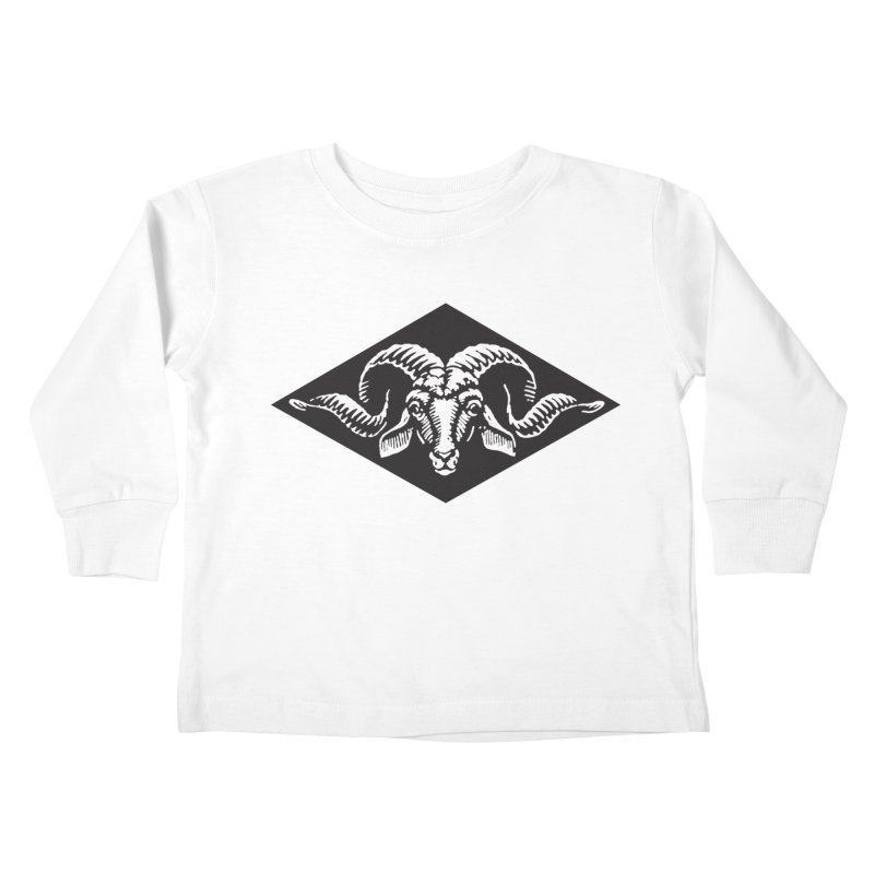 G.O.A.T. Kids Toddler Longsleeve T-Shirt by Midnight Studio