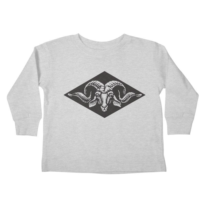 G.O.A.T. Kids Toddler Longsleeve T-Shirt by Midnight Studio
