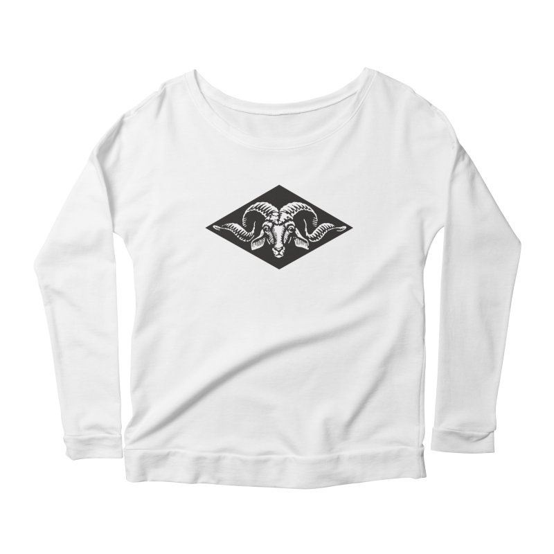 G.O.A.T. Women's Longsleeve Scoopneck  by Midnight Studio