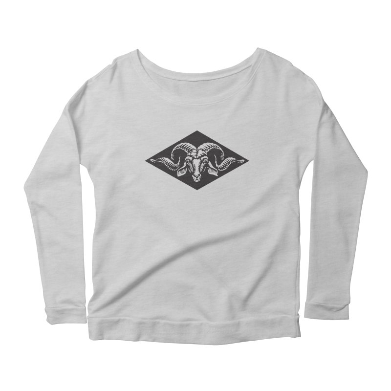G.O.A.T. Women's Scoop Neck Longsleeve T-Shirt by Midnight Studio