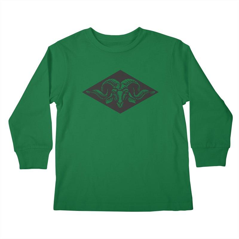 G.O.A.T. Kids Longsleeve T-Shirt by Midnight Studio