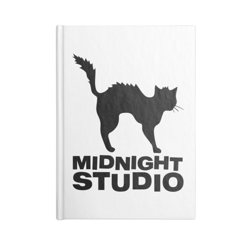 Studio Shirt Accessories Lined Journal Notebook by Midnight Studio