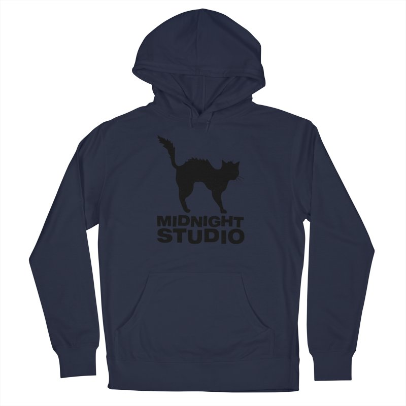 Studio Shirt Men's French Terry Pullover Hoody by Midnight Studio