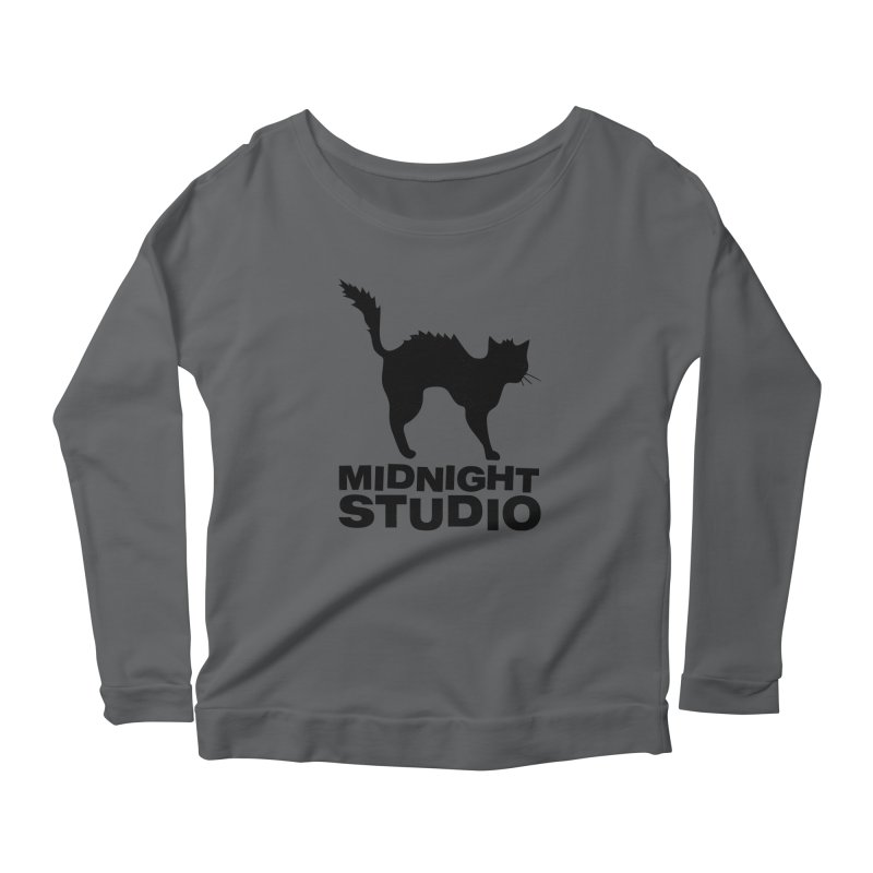 Studio Shirt Women's Scoop Neck Longsleeve T-Shirt by Midnight Studio