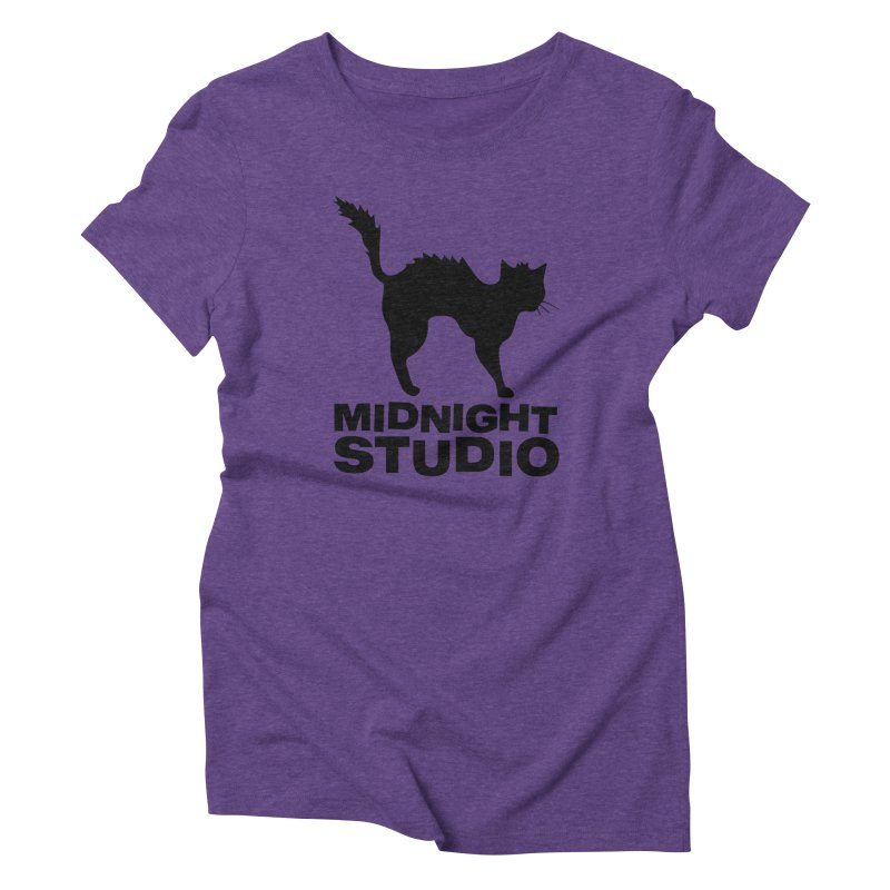 Studio Shirt Women's Triblend T-Shirt by Midnight Studio