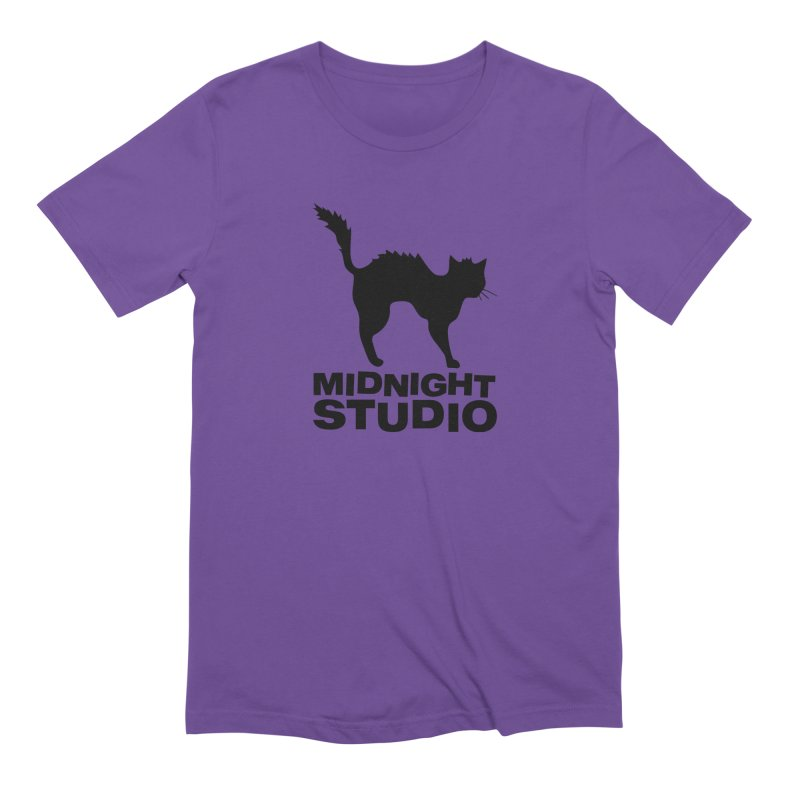 Studio Shirt in Men's Extra Soft T-Shirt Purple by Midnight Studio
