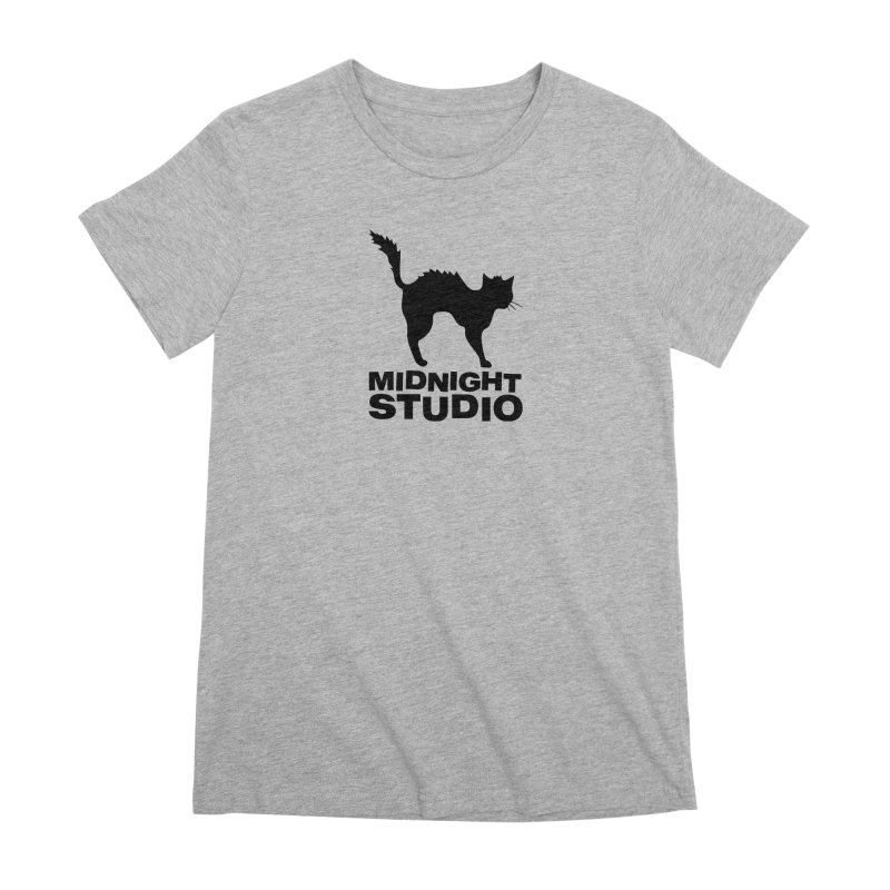 Studio Shirt Women's Premium T-Shirt by Midnight Studio