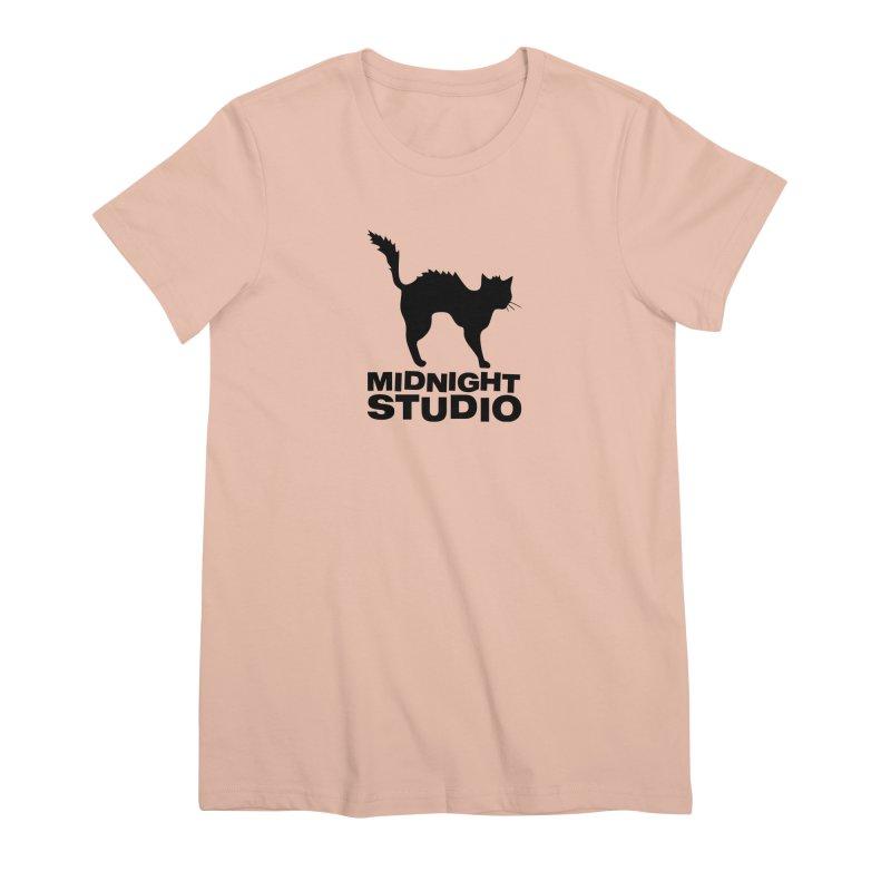Studio Shirt Women's Premium T-Shirt by Midnight Studio