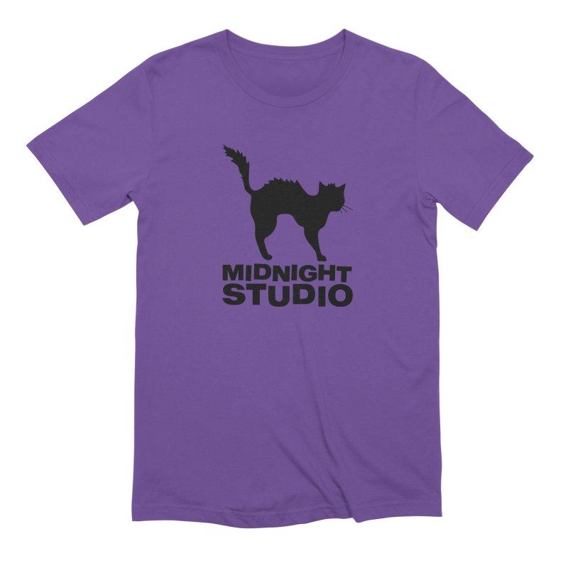Studio Shirt in Men's Extra Soft T-Shirt Purple by Midnight Studio