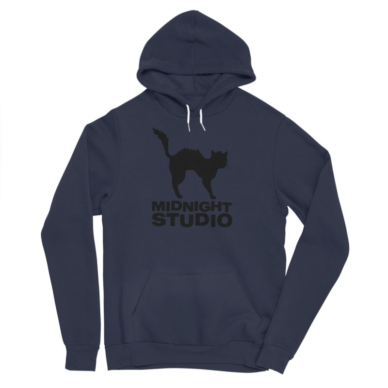 Studio Shirt Women's Sponge Fleece Pullover Hoody by Midnight Studio