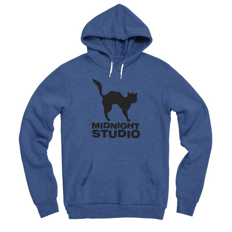 Studio Shirt Men's Sponge Fleece Pullover Hoody by Midnight Studio