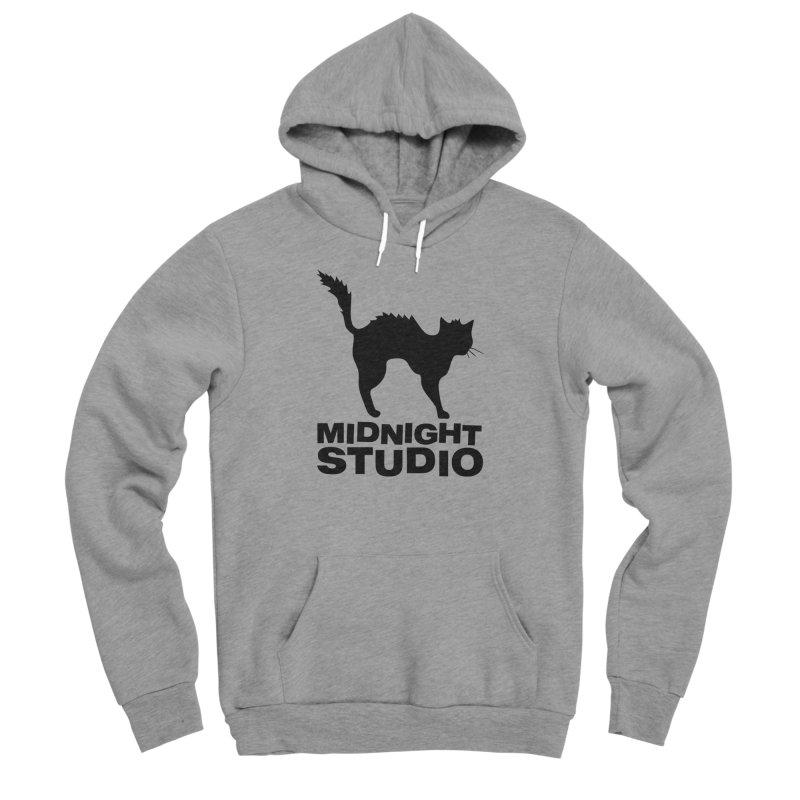 Studio Shirt Men's Sponge Fleece Pullover Hoody by Midnight Studio
