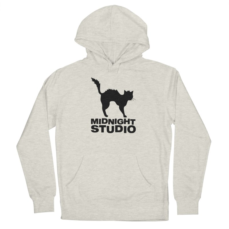 Studio Shirt Women's French Terry Pullover Hoody by Midnight Studio