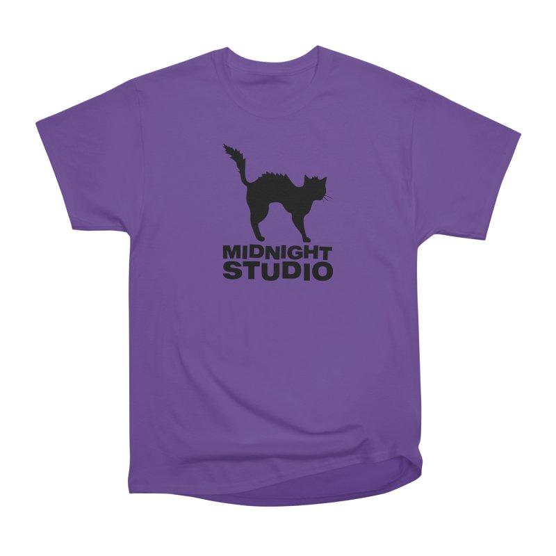 Studio Shirt Women's Heavyweight Unisex T-Shirt by Midnight Studio