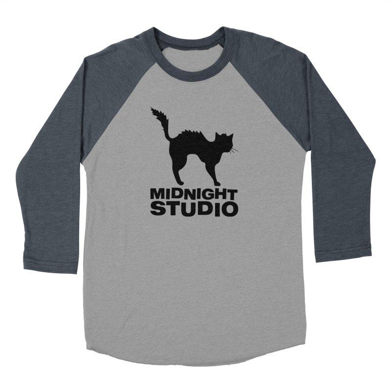 Studio Shirt Women's Baseball Triblend Longsleeve T-Shirt by Midnight Studio