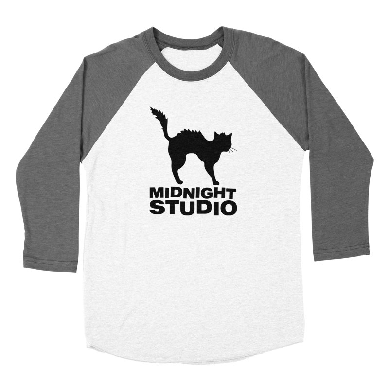 Studio Shirt Men's Baseball Triblend Longsleeve T-Shirt by Midnight Studio