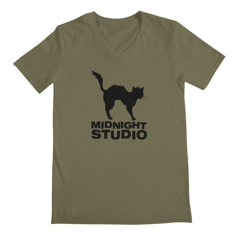Studio Shirt Men's Regular V-Neck by Midnight Studio