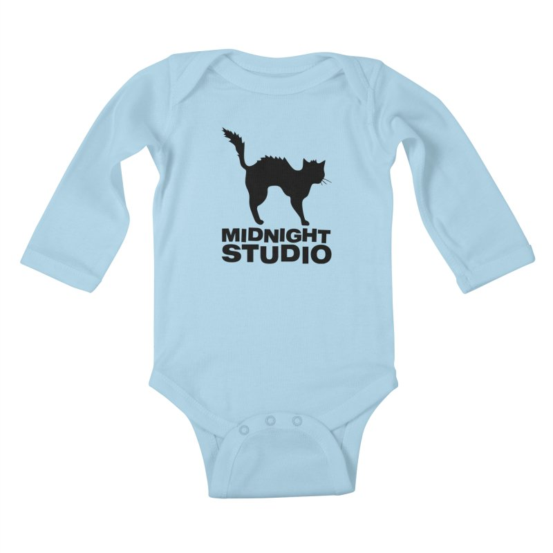 Studio Shirt Kids Baby Longsleeve Bodysuit by Midnight Studio